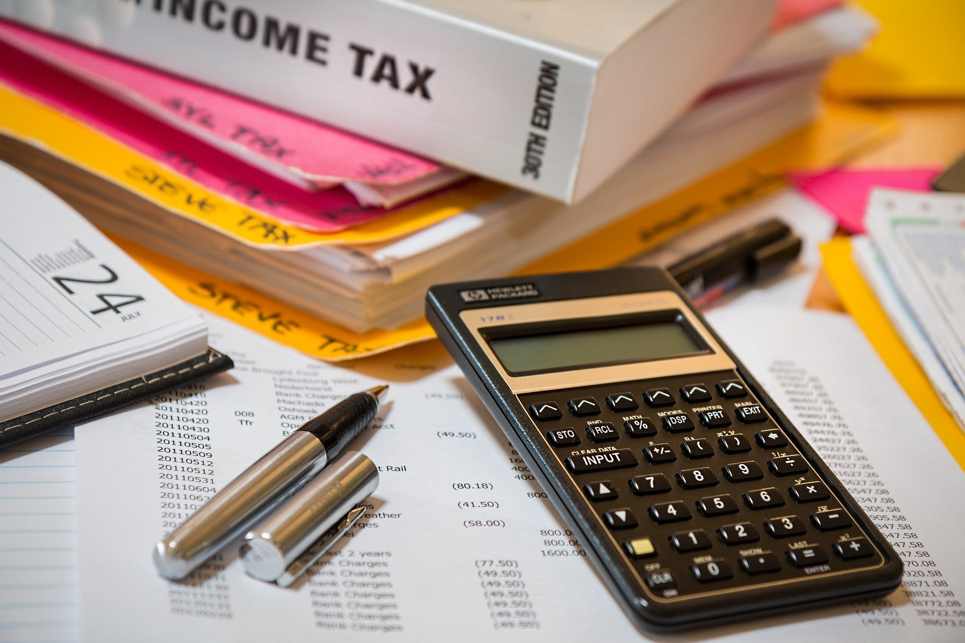 Income tax calculating